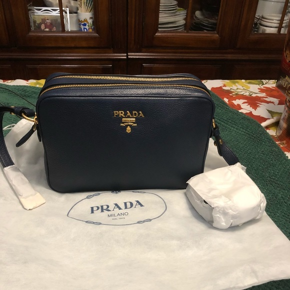 eb25c98b739022 Prada Bags | Sold Double Zipper Sling Bag | Poshmark